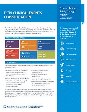 Clinical Events Classification
