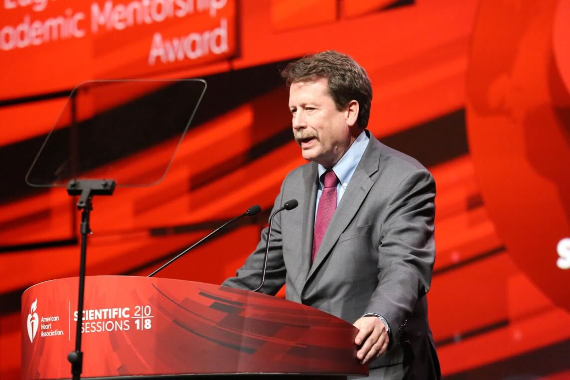 AHA 2018: DCRI founder Robert Califf honored with Braunwald Mentoring Award