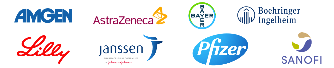 The following companies are part of the DCRI Think Tank Advisory Board: Amgen, AstraZeneca, Bayer, Boehringer-Ingelheim, Eli Lilly, Janssen, Pfizer, and Sanofi.